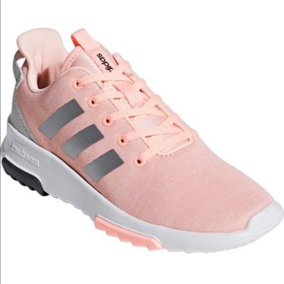 Adidas Youth Girls Cloudfoam Running Shoes